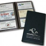 business card file case