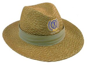 straw hat_wide brim men's